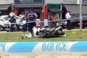 Traffic police officer seriously hurt at Serangoon Road