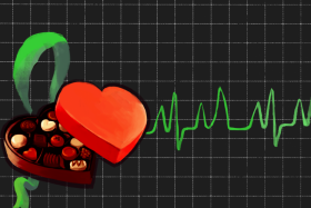 Chocolate link to heart rhythm