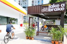 Shell unveils its 'station of the future' in Tampines