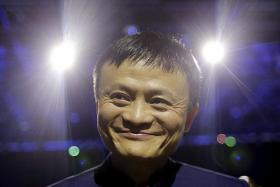 Alibaba's market value up $58 billion in a day