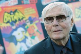 This file photo taken on October 5, 2016 shows Actor Adam West attending the Batman: Return of the Caped Crusaders