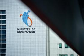 The Ministry of Manpower building on Havelock Road.