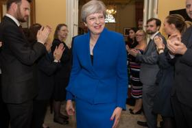 Theresa May is right to stay - for now