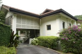 Facade of 38 Oxley Road, the residence of Minister Mentor Lee Kuan Yew. It was here that the founding members of the People's Action Party (PAP), comprising a small group of trade unionists, teachers, lawyers and journalists discussed setting up a new left-wing party.