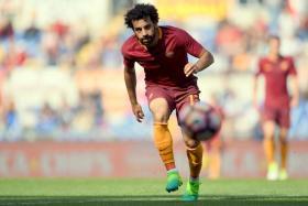 Roma's Egyptian winger Mohamed Salah is a transfer target for Liverpool.