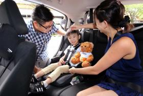 Uber Car Seat vehicles will be fitted with an IMMI Go car seat, which is suitable for children aged 12 months and above.