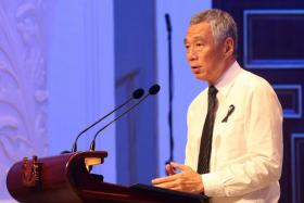 PM Lee Hsien Loong has denied his siblings' allegations that he harbours political ambitions for his son.