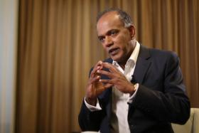 Home Affairs and Law Minister K. Shanmugam