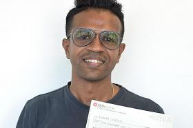 TNP reader donates $5k to 31-year-old poly student