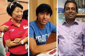 (L-R) Margaret Oh, Soh Rui Yong, Dr G Balasekaran