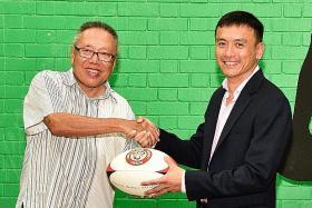 Khoo takes rugby mantle