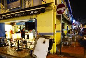 Nasrin Persian Cuisine and Sufi's Corner in Arab Street.