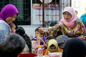 Madam Halimah Yacob on Hari Raya and that presidential rumour