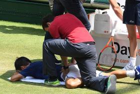 Injury blow for Nishikori