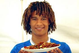 Chelsea players walk the wok