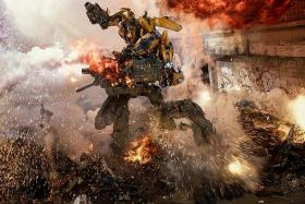 Transformers sequel opens to US box office low