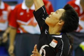 Blows for volleyball, sepak takraw and weightlifting