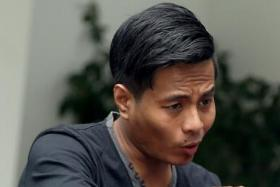 Mohammed Hanafiah Jumahat, who was sentenced to three years' jail with the minimum 12 strokes of the cane on 27 June 2017 after pleading guilty to one count of robbery.