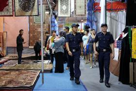 They patrolled bazaar to keep the peace