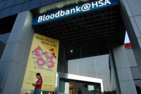 Facade of the Bloodbank@HSA.