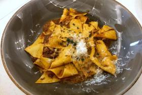 Handcut pasta TNP PHOTOS: YEOH WEE TECK