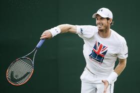 Murray upbeat about playing at Wimbledon