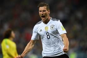 Germany's Leon Goretzka could arguably walk into England's first 11.