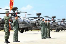 Taiwan purchased 30 Apache helicopters to boost its defences