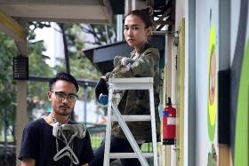 Local art duo make their mark around the world