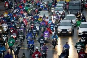 Hanoi to ban all motorcycles by 2030
