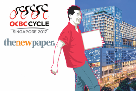 Sign up and pose to win at OCBC Cycle 2017 launch event