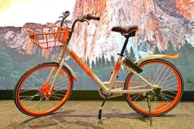 Mobike launches bicycles with new features, free rides