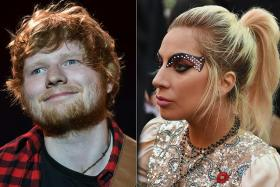 Lady Gaga backs Ed Sheeran after he quits Twitter over abuse