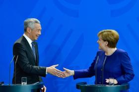 Singapore, Germany to cooperate in new areas