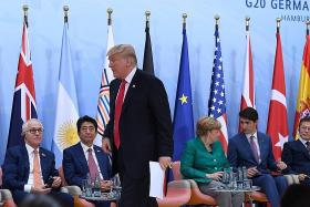 US leader Donald Trump an isolated figure on world stage