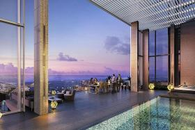 $100m 'bungalow in the sky'