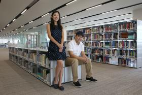 Ms Wang Kaiying and Mr Kevin Jerrold Chan, both 19, will start their medical studies at NTU's Lee Kong Chian School of Medicine next month
