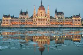 (Above) Hungarian Parliament