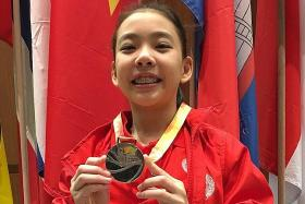 Singapore's gymnasts turn on the style at ASG