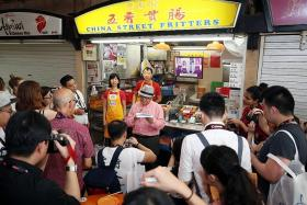 Hawkers lauded by STB and City Gas amid uncertain future