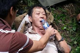 Rescued durian picker: I ate leaves and drank rainwater while waiting for help
