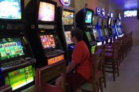 Jackpot machines at Gombak United Football Club.