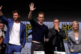New Justice League trailer unveiled at Comic-Con No Blinkin Park after Bennington's death Marvel brings hammerless Thor, new king