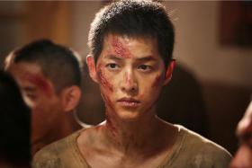 Song Joong Ki in The Battleship Island.