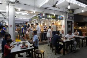 Heng Long Teochew Porridge restaurant on Upper Serangoon Road.