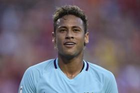 Barcelona coach Ernesto Valverde insists that Neymar is happy at the club despite reports linking him with a move.