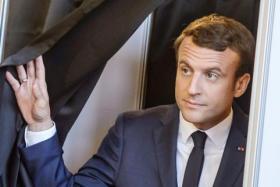 Mr Emmanuel Macron.