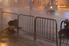 Typhoon Nesat hits Taipei, Taiwan July 29, 2017