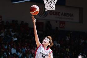 Basketballer Yoshida targets SEA Games glory for Singapore