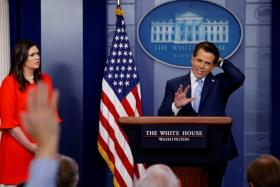 White House communications director Anthony Scaramucci was fired by US President Donald Trump after just 10 days on the job.